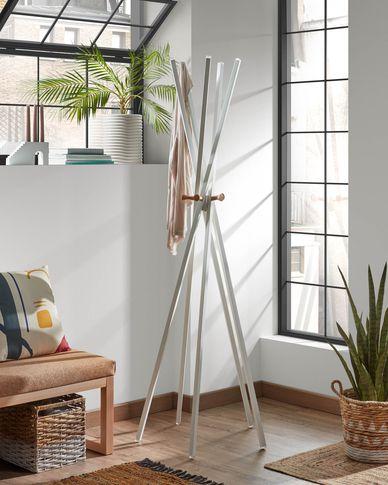 Chelsey white coat rack 170 cm