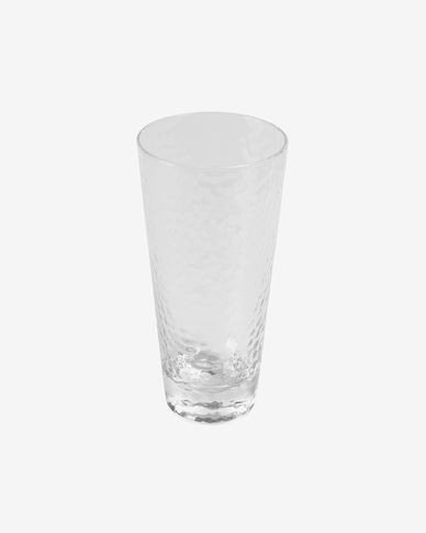 Bicchiere Dinna grande in vetro trasparente