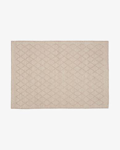 Tappeto Sybil 160 x 230 cm beige