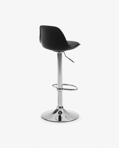 Orlando-T Kruk zwart hoogte 60-82 cm