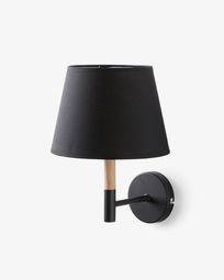 Orsen wandlamp zwart