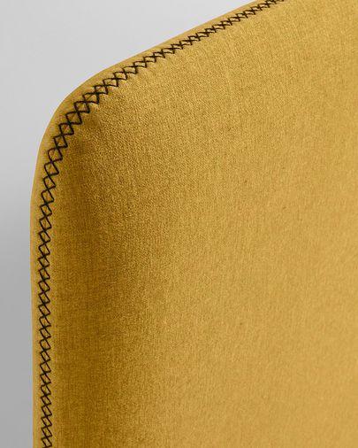 Dyla headboard 178 x 76 cm mustard