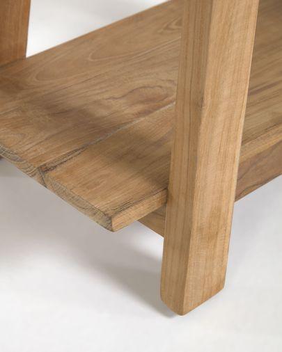 Reposapeus Safara fusta massissa teca reciclada 50 x 32 cm