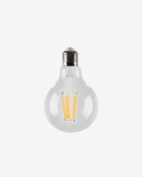 Halogen LED Bulb E27 of 4 W and 80 mm warm light