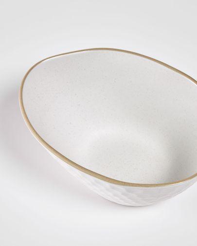 Taça Manami pequena cerâmica branco