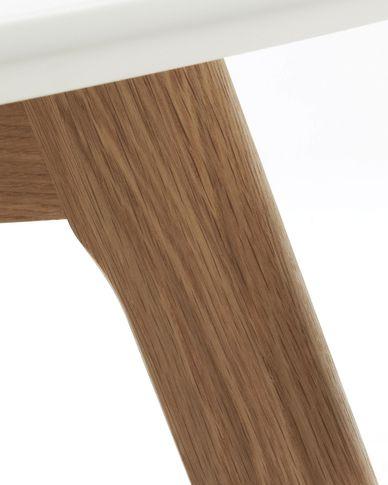 White Kirb coffee table Ø 90 cm
