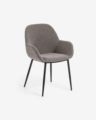 Cadira Konna gris clar