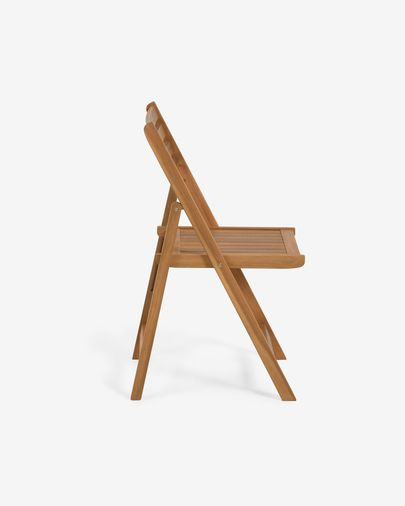 Daliana folding chair in solid acacia FSC 100%
