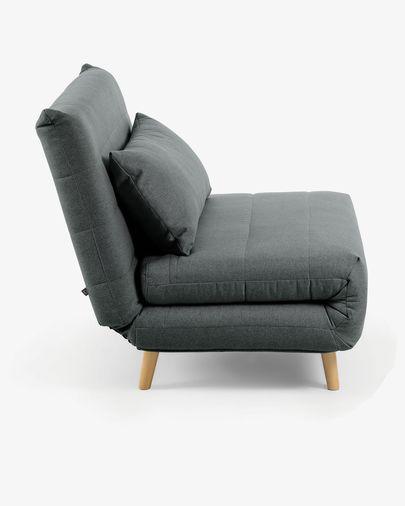 Sofá cama Susan 105 cm gris oscuro