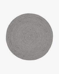 Rodhe grey Ø 150 cm rug