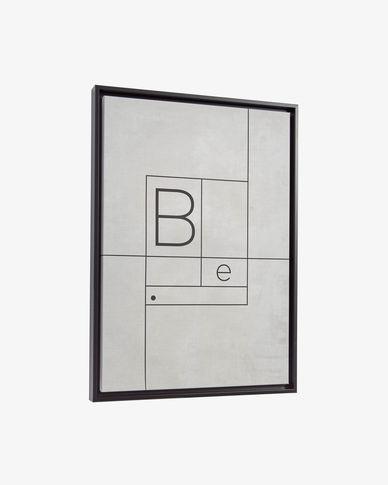 Quadro Myrthe 50 x 70 cm branco
