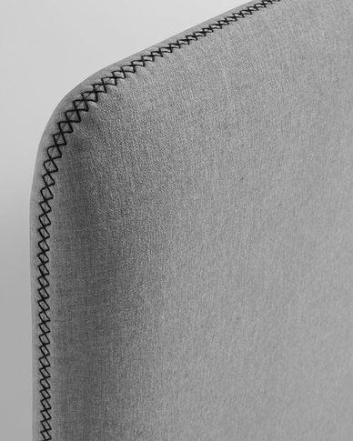 Dyla Kopfteilbezug 178 x 76 cm, grau