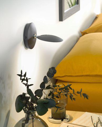 Tannsy black wall lamp