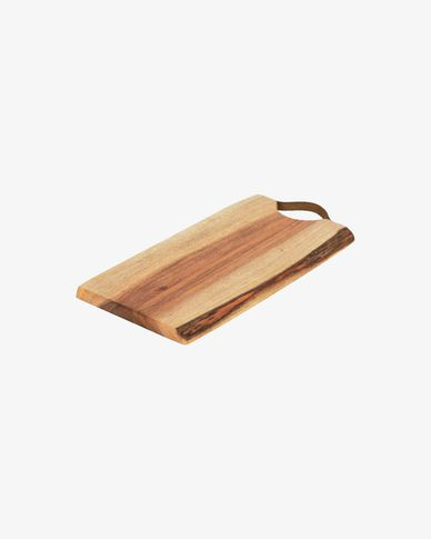 Taula de servir rectangular Severa fusta massissa acàcia