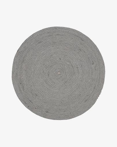 Rodhe Ø 150 cm Teppich, grau