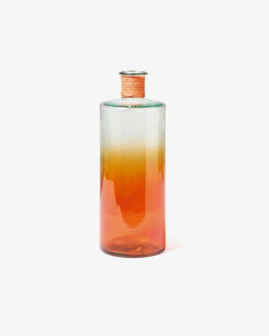 Shutters vase orange 42 cm