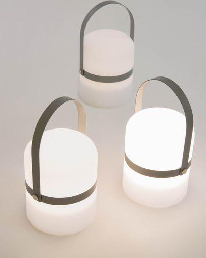 Lampe de table LED mini Ridley gris