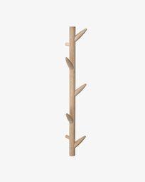 Cabide de parede Natane 5 ganchos em madeira de bétula