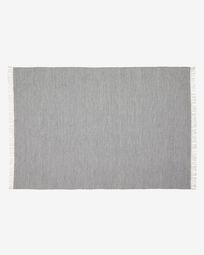 Elbia grijs PET tapijt 160 x 230 cm