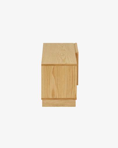 Moble TV Taiana 1 porta amb xapa de roure 112 x 44 cm