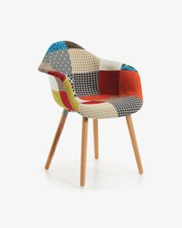 Cadira Kevya patchwork multicolor