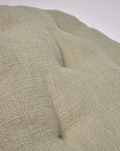 Brunela 100% cotton green chair cushion 45 x 45 cm