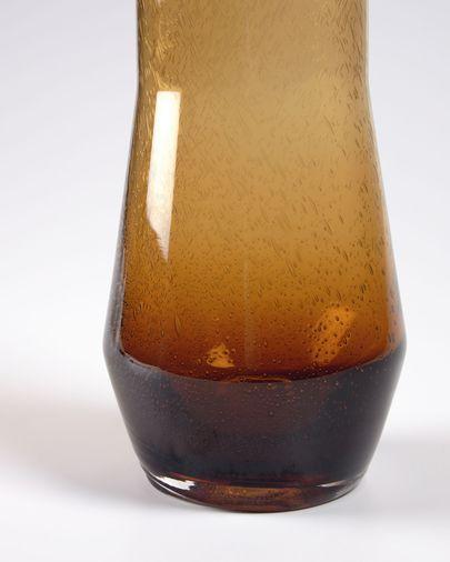 Breshnna orange glass jug