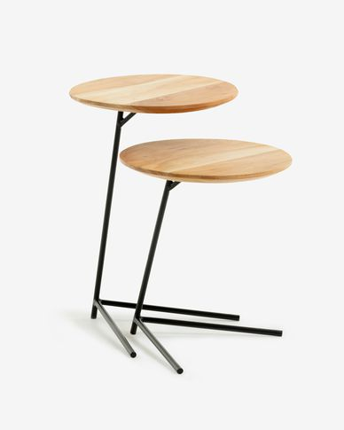 Asha set of 2 side tables Ø 40 cm / Ø 40 cm