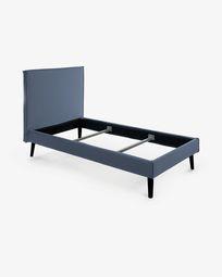 Llit Venla 150 x 190 cm blau