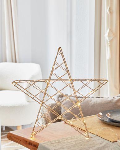 Lichtgevende ster Orazia goud