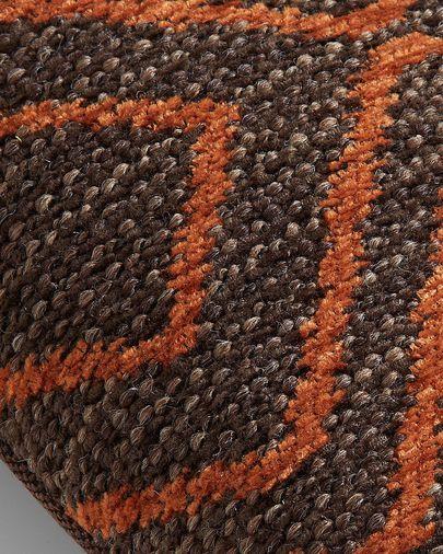Fodera per cuscino Eland 30 x 50 cm marrone quarzo