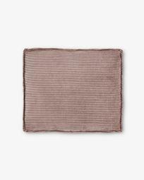 Coixí Blok 60 x 70 cm pana rosa
