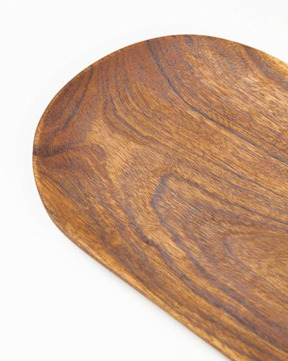 Bandeja Odaia madera maciza acacia