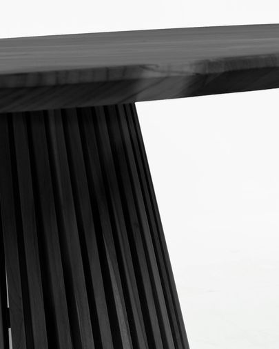 Jeanette Ø 120 cm black table
