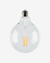 Halogen LED Bulb E27 of 6W and 120 mm warm light