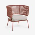 Garden armchairs and pouffes