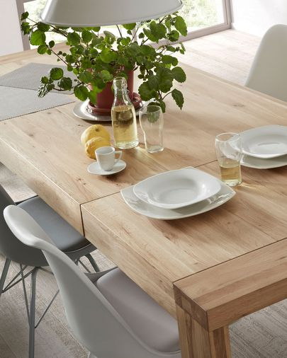 Briva extendable table natural 200 (280) x 100 cm