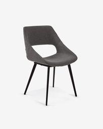 Dark grey Hest chair