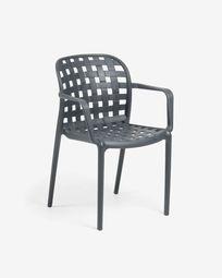 Cadeira Isa cinzento escuro
