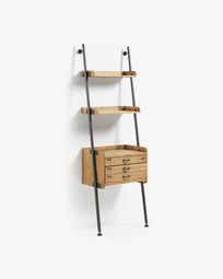 Mobela shelving unit 67 x 200 cm with drawers