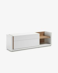 DE TV-meubel 170 x 52 cm wit