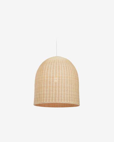 Lampenschirm für die Lampe Druciana aus Rattan mit natürlichem Finish Ø 60 cm