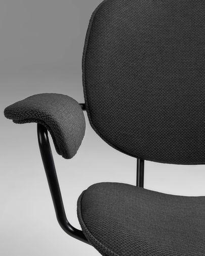 Naiquen dark grey chair
