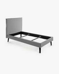 Bed Venla 140 x 190 cm grijs
