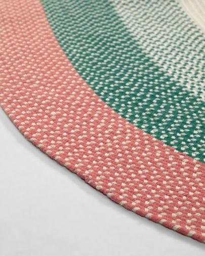 Dalila PET green rug 160 x 230 cm