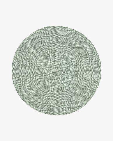 Tapete Rodhe Ø 150 cm verde