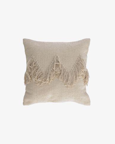 Paulin white cushion cover 45 x 45 cm
