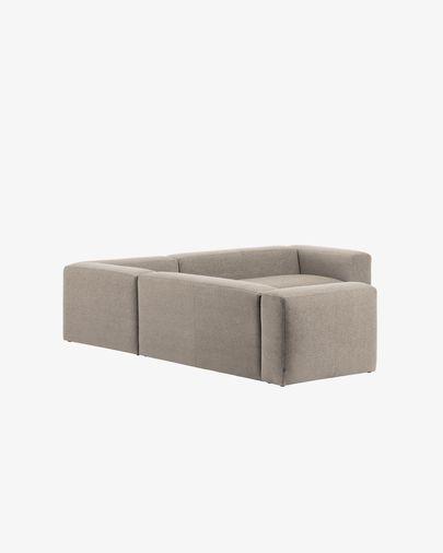 Beige Blok 4 seater corner sofa 290 x 290 cm