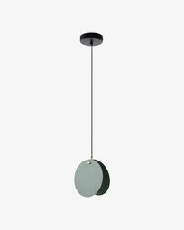 Lampe suspension Monica vert