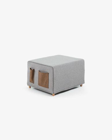 Puf cama Kos 70 x 60 (180) cm gris claro